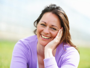 http://www.dreamstime.com/royalty-free-stock-photography-middle-aged-woman-smiling-you-image11631817